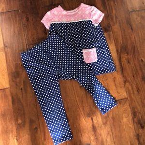 Girls size 6 J Khaki outfit